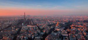 Immobilier francilien : vue sur paris